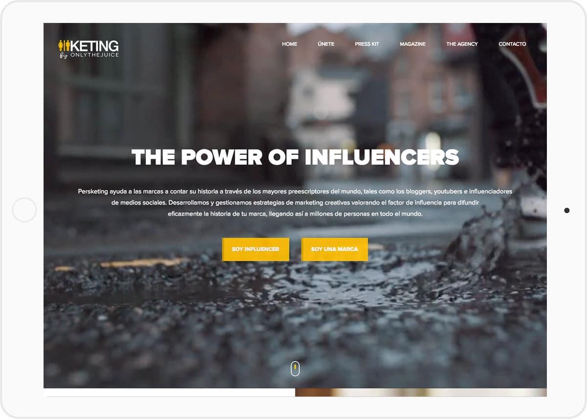 Diseño pagina web Corporativa